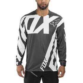 Fox Demo Long Sleeve Jersey Men white/black